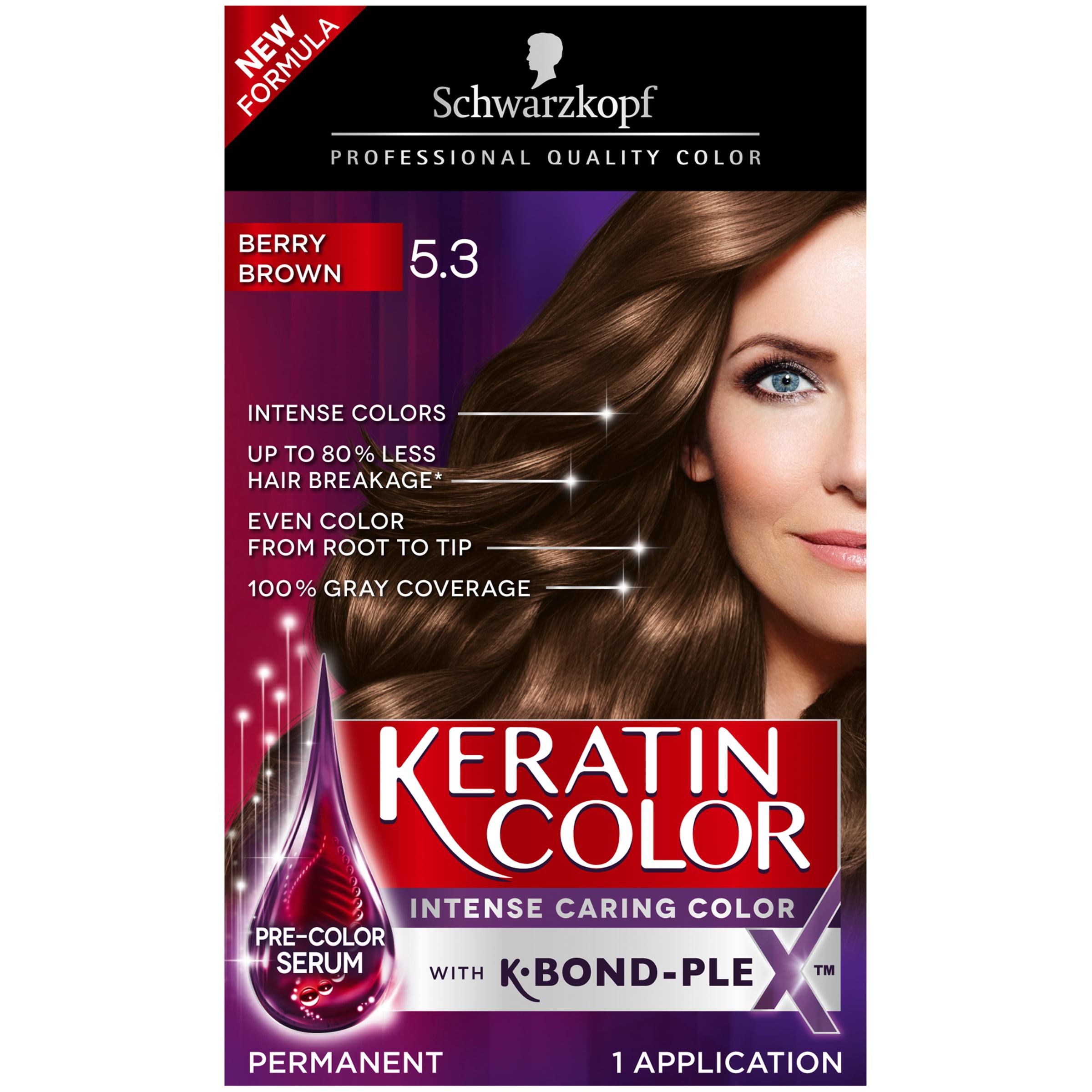 Schwarzkopf Keratin Color Anti Age Hair Color Cream 5 3