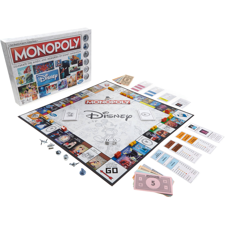 Monopoly: Disney Animation Edition - Walmart com