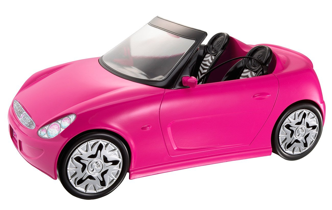 doll vehicle get ready for life in the pink lane by barbie walmartcom