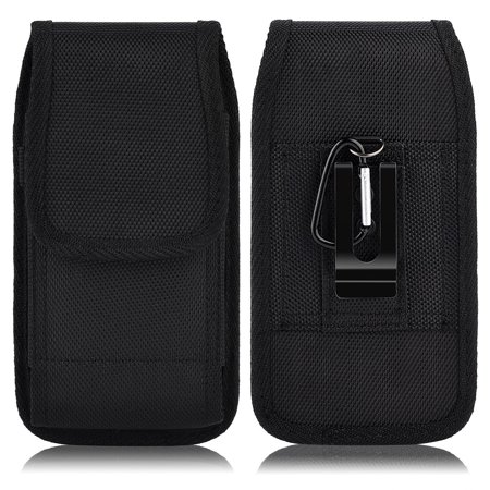 more photos 76098 987cb For Samsung Galaxy NOTE 8 / NOTE 5 / NOTE 4 / NOTE Edge ~ Cell Phone Case  Pouch Holster - Vertical / Horizontal Tough Nylon Pouch Duty Metal Clip ...