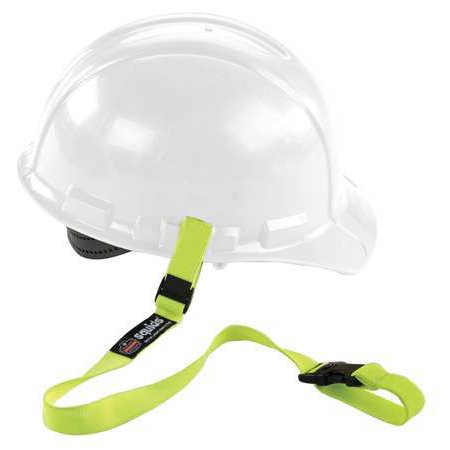 SQUIDS BY ERGODYNE Hard Hat Lanyard,Buckle,Elastic,Lime 3150](Construction Helmet)