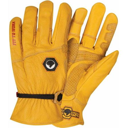 Yellow Worm (StoneBreaker Horseman Work Glove,)