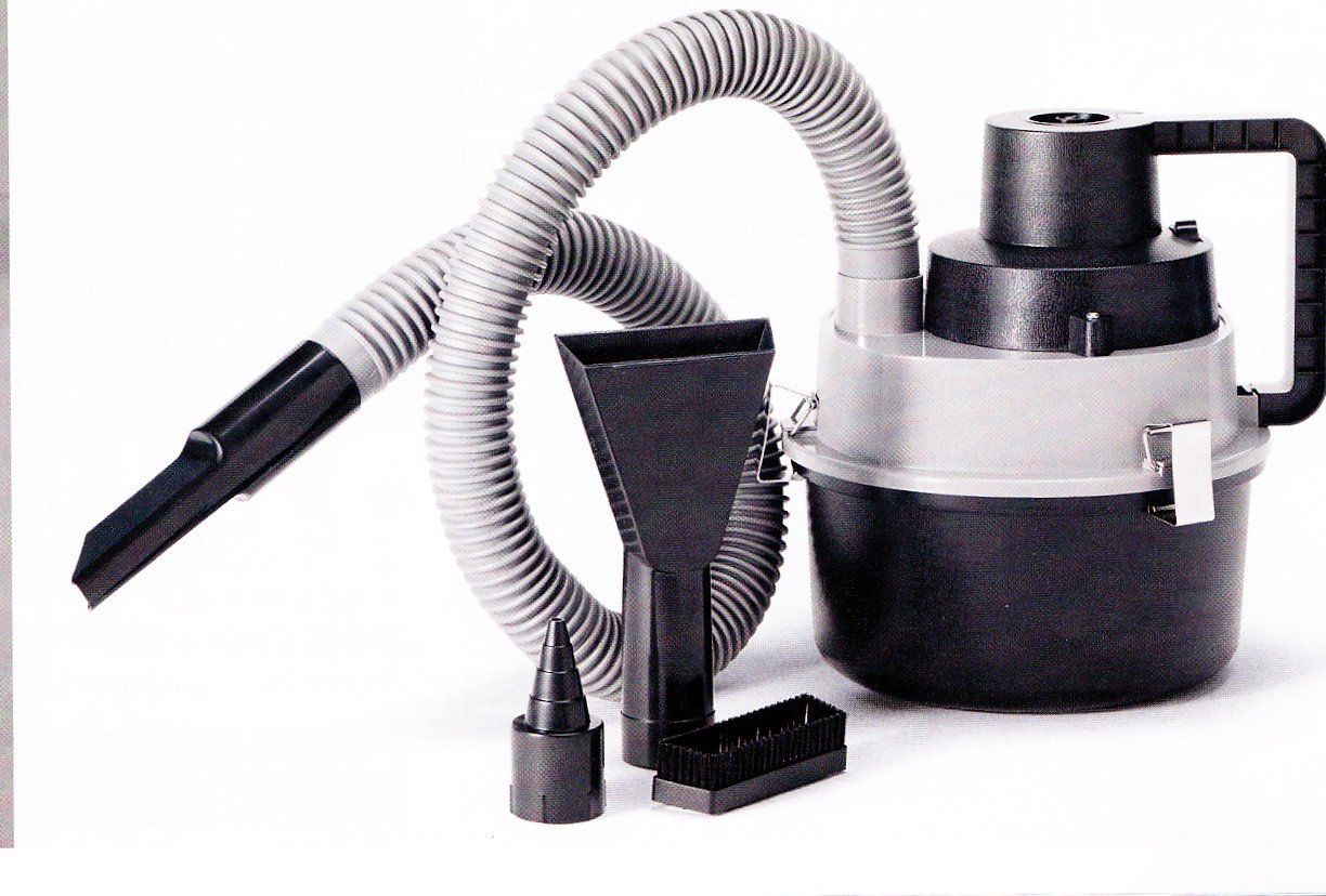 12V DC Portable Wet & Dry Auto Vacuum Cleaner by