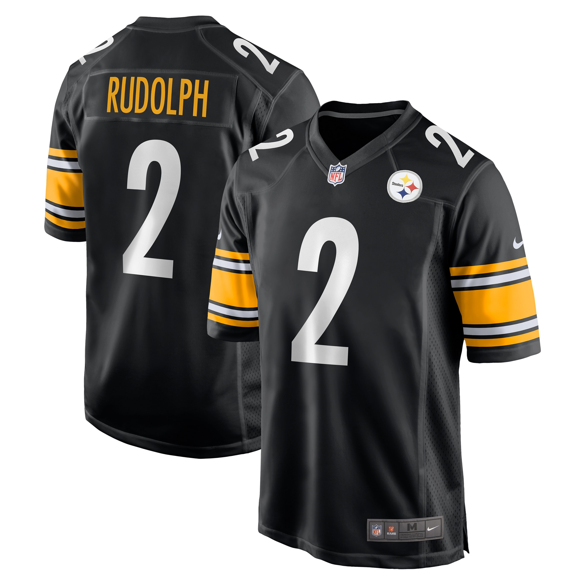 Mason Rudolph Pittsburgh Steelers Nike Game Jersey - Black - Walmart.com