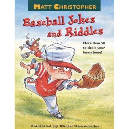 Matt Christopher's Baseball Jokes and Riddles - eBook - Jokes And Riddles For Halloween