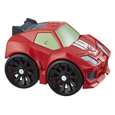 Playskool Heroes Transformers Rescue Bots Flip Racers Sideswipe - Transformers Animated Sideswipe