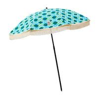 Beach Brella 5 ft. Mermaid Beach Umbrella