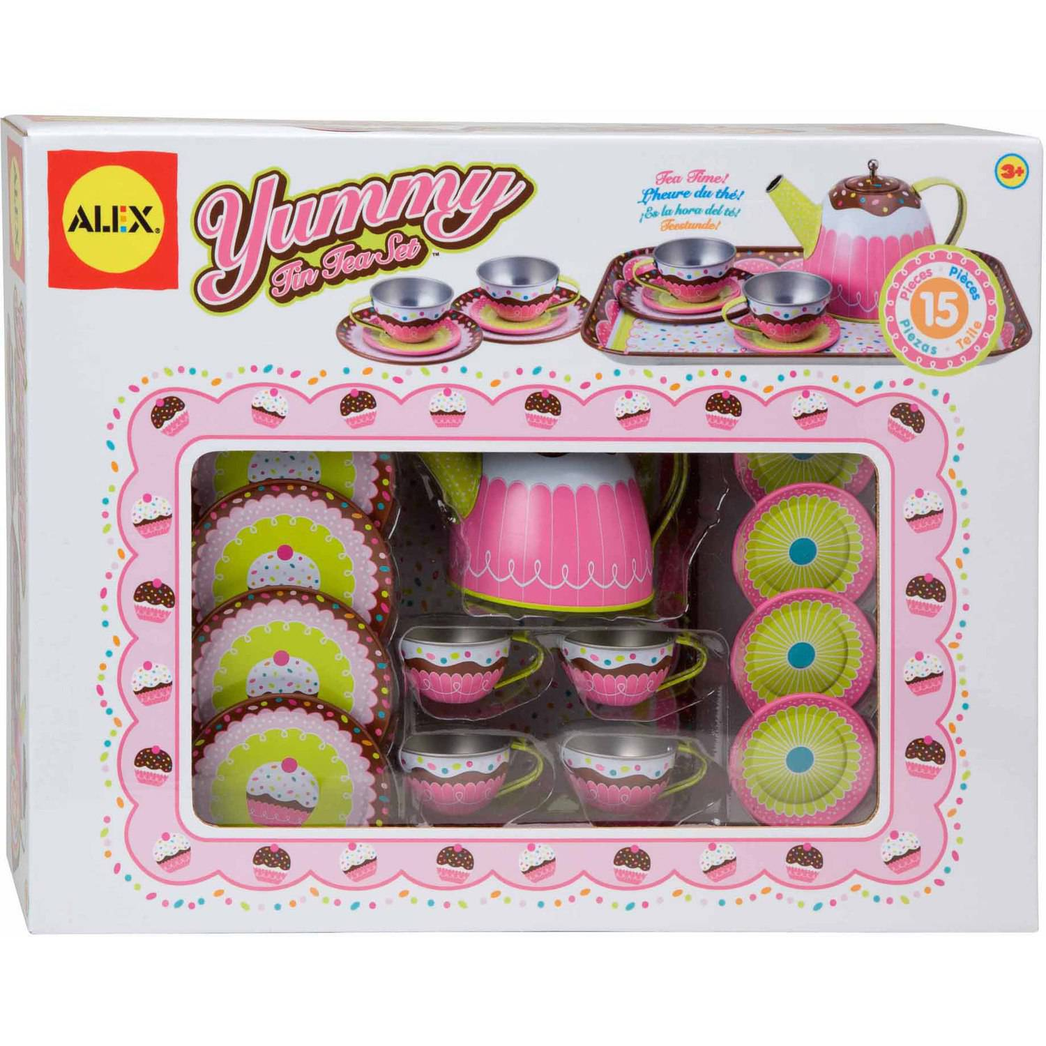 ALEX Toys Yummy Tin Tea Set