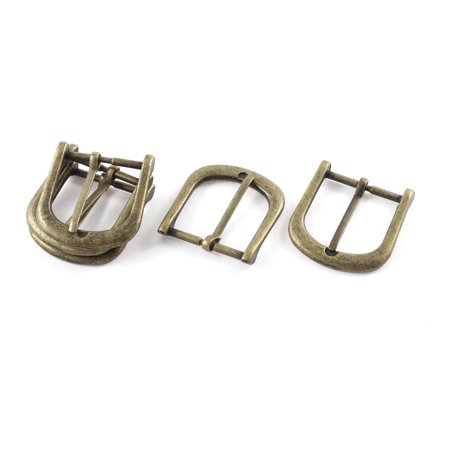 5pcs 40mmx38mm Retro Style Bronze Tone Single Prong Horseshoe Belt - Horseshoe Buckle