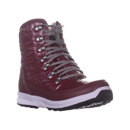 Khombu Elsa Winter Ankle Boots, Zinfandel - image 6 de 6