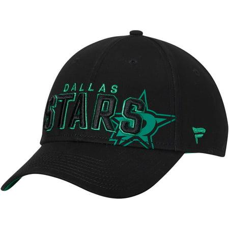 Dallas Stars Fanatics Branded Iconic Dual Alpha Adjustable Hat - Black - OSFA ()