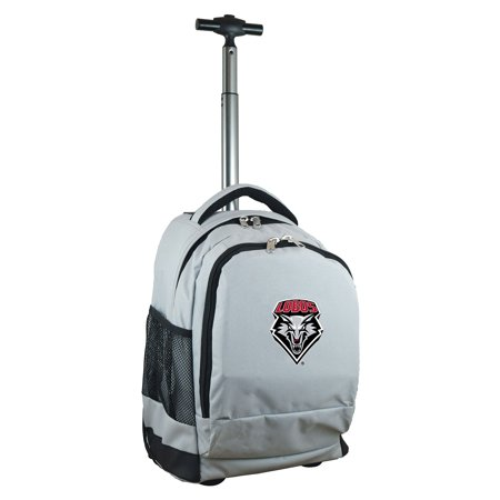 New Mexico Lobos 19 Premium Wheeled Backpack - Gray