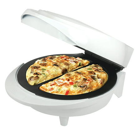 Better Chef Electric Double Omelette Maker- White