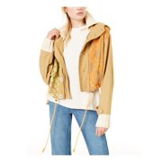FREE PEOPLE Womens Brown Jacket  Size: L