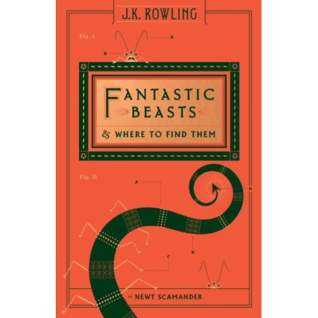 Fantastic Beasts And Where To Find Them  Hogwarts Library Book