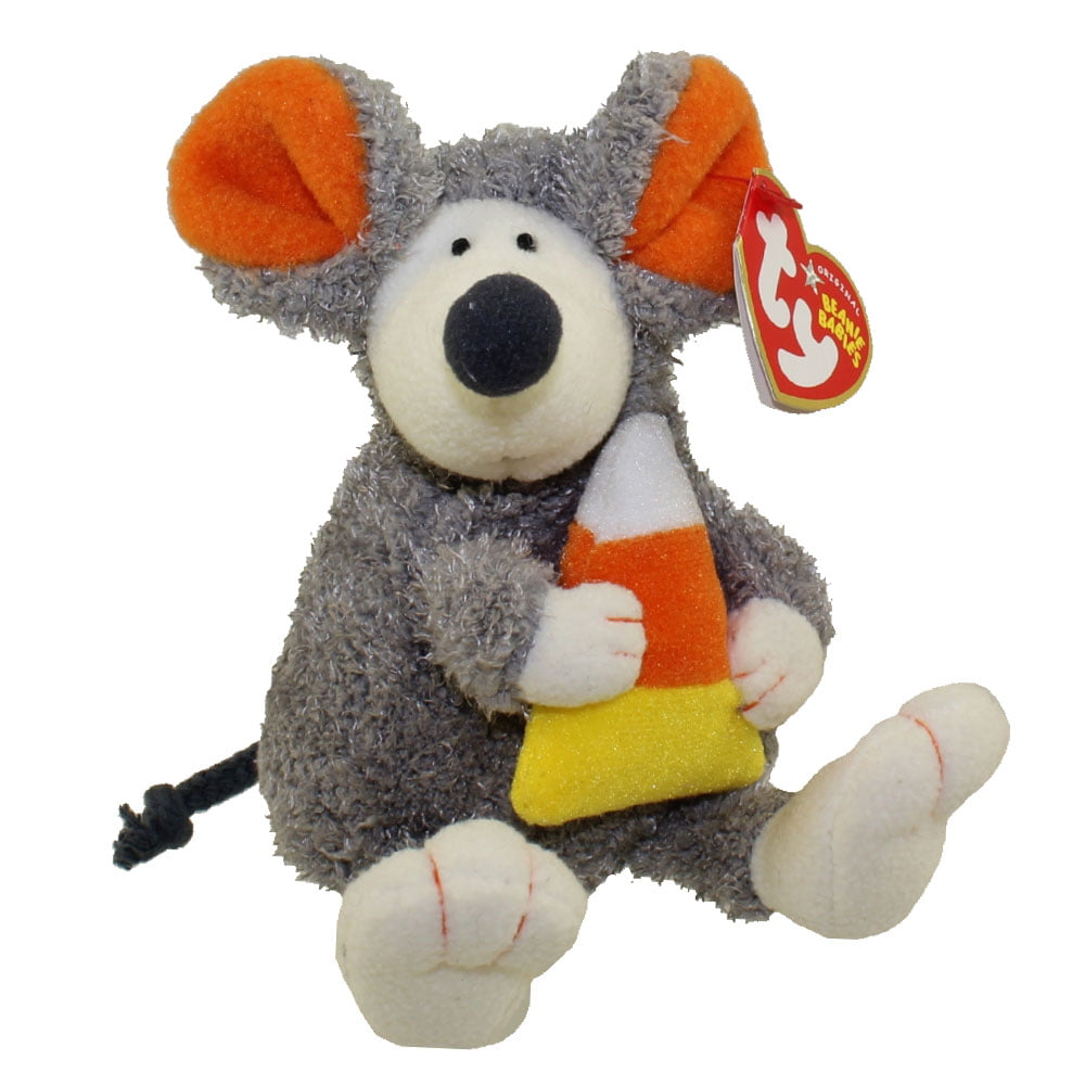 TY Beanie Baby RATZO the Rat Halloween Version - Internet Excl 5.5 inch