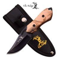 Elk Ridge Mosquito Full Tang Trail Knife 6in Overall w Belt Sheath