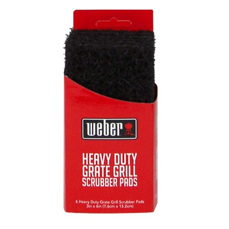 Bryson Industries W28 Grill Grate Scrubber Pads, 10-Pk. ()