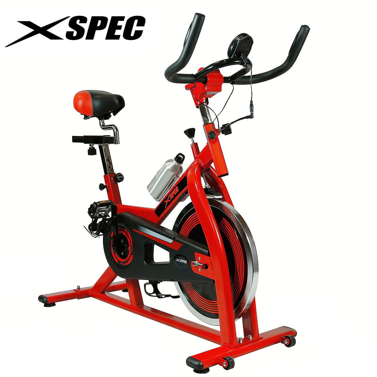 Xspec Pro Stationary Upright Exercise Bike Indoor Cycling...