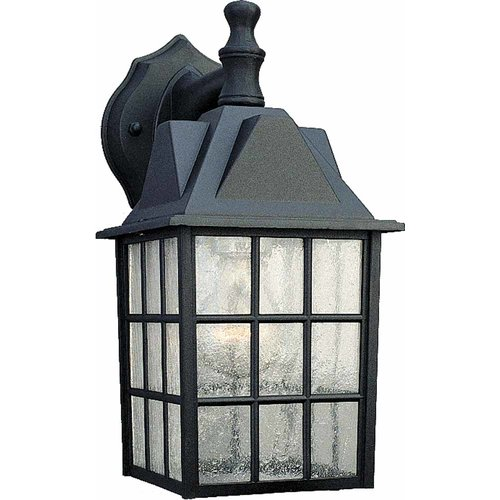 Volume Lighting 1-Light Outdoor Wall Lantern