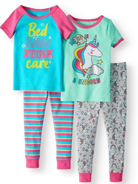 bd7bbd6d46 Product Image Toddler Girls  Cotton Tight Fit Pajamas