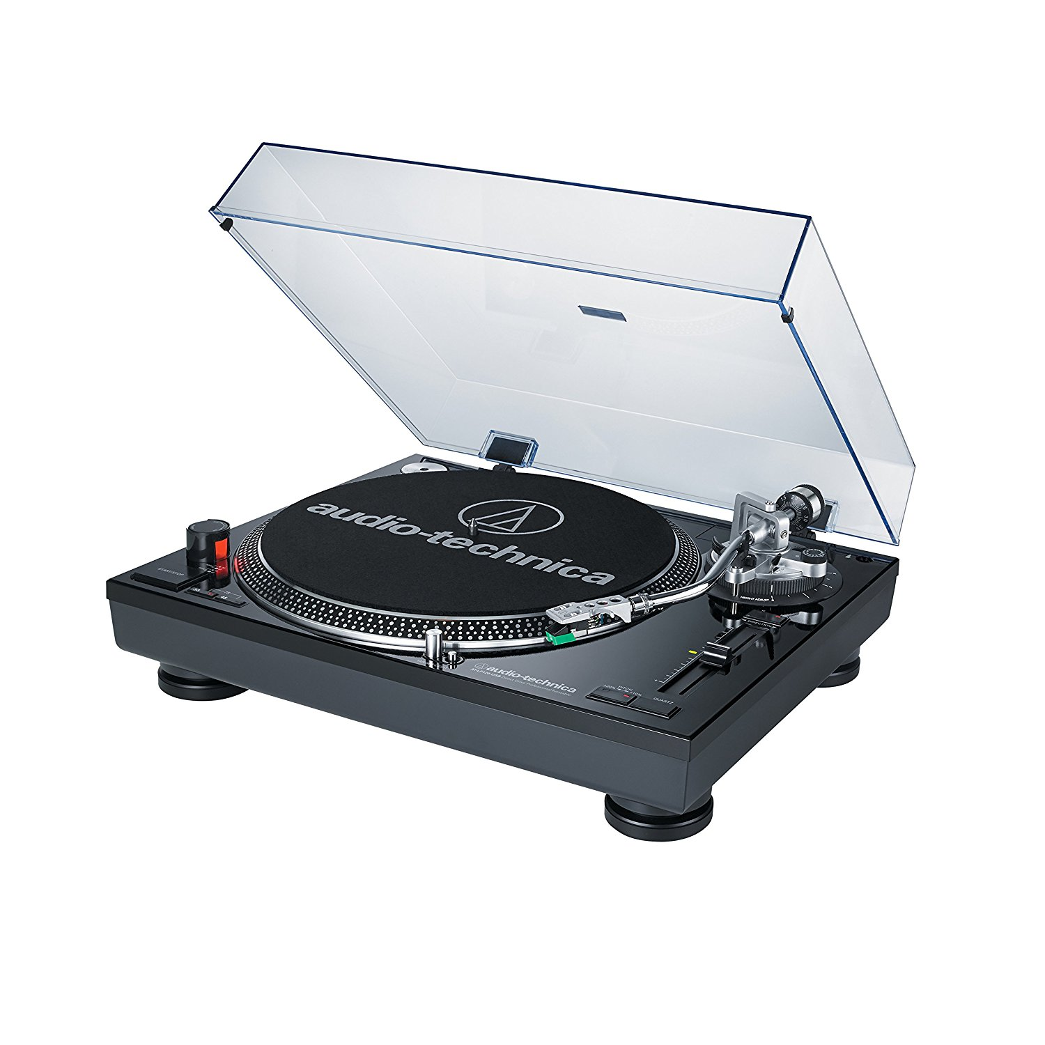Audio-Technica AT-LP120BK-USB Direct-Drive Professional USB & Analog Stereo Turntable... by Audio-Technica
