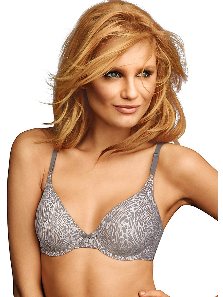 Maidenform Women's One Fab Fit T Shirt Bra Sensuous Animal 34C 34C Sensuous Animal