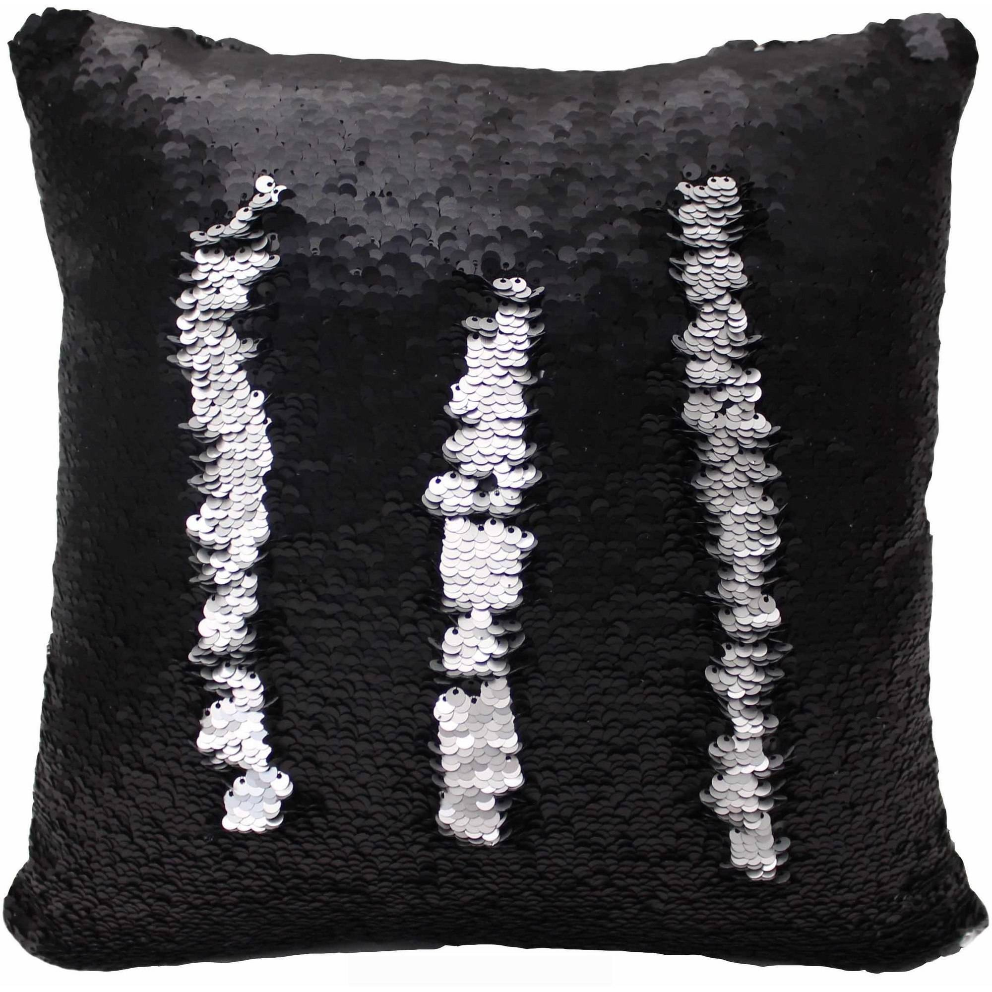 Posh Home Sequined Mermaid Decorative Pillow - Walmart.com