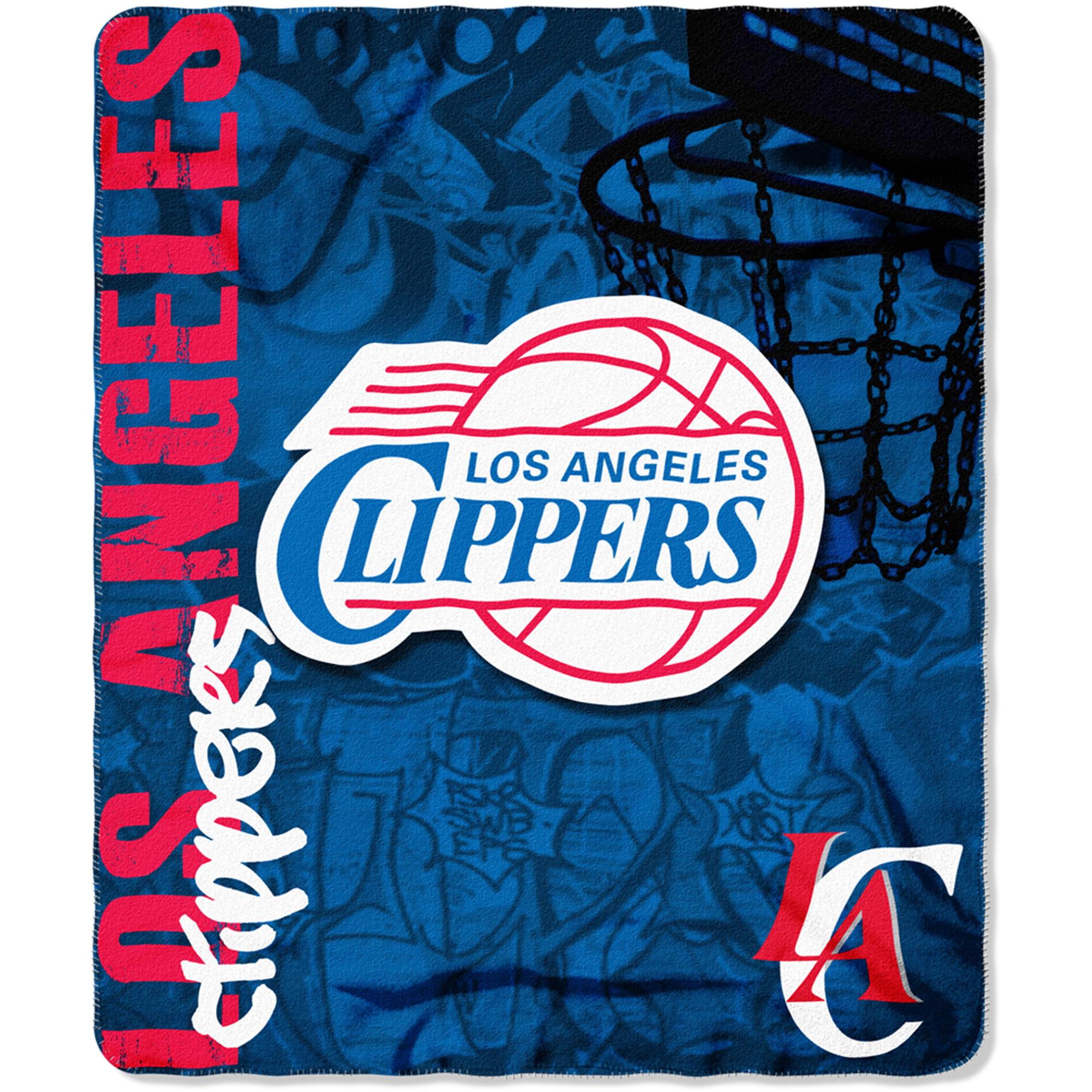 "NBA Los Angeles Clippers 50"" x 60"" Fleece Throw"