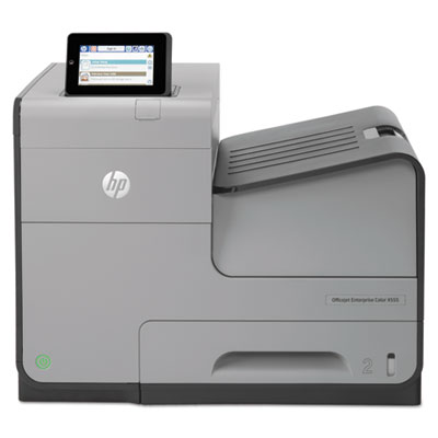 Hewlett Parkard Officejet Enterprise Color X555DN Inkjet Printer, REFURBISHED HEWC2S11AREFB by HP