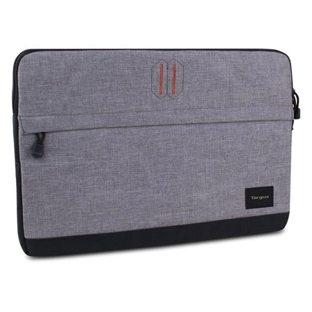 Targus Strata Laptop Sleeve for 15.6 Notebooks, Pewter- XSDP -TSS63704US - Carry your laptop with confidence with the Targus 15.6 Strata Laptop Sleeve. This slim and lightweight sleeve is