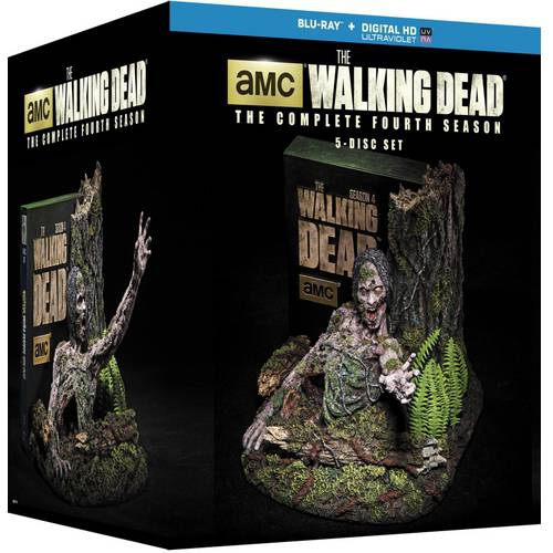 The Walking Dead: The Complete Fourth Season (Limited Edition) (Blu-ray + Digital HD) (Widescreen)