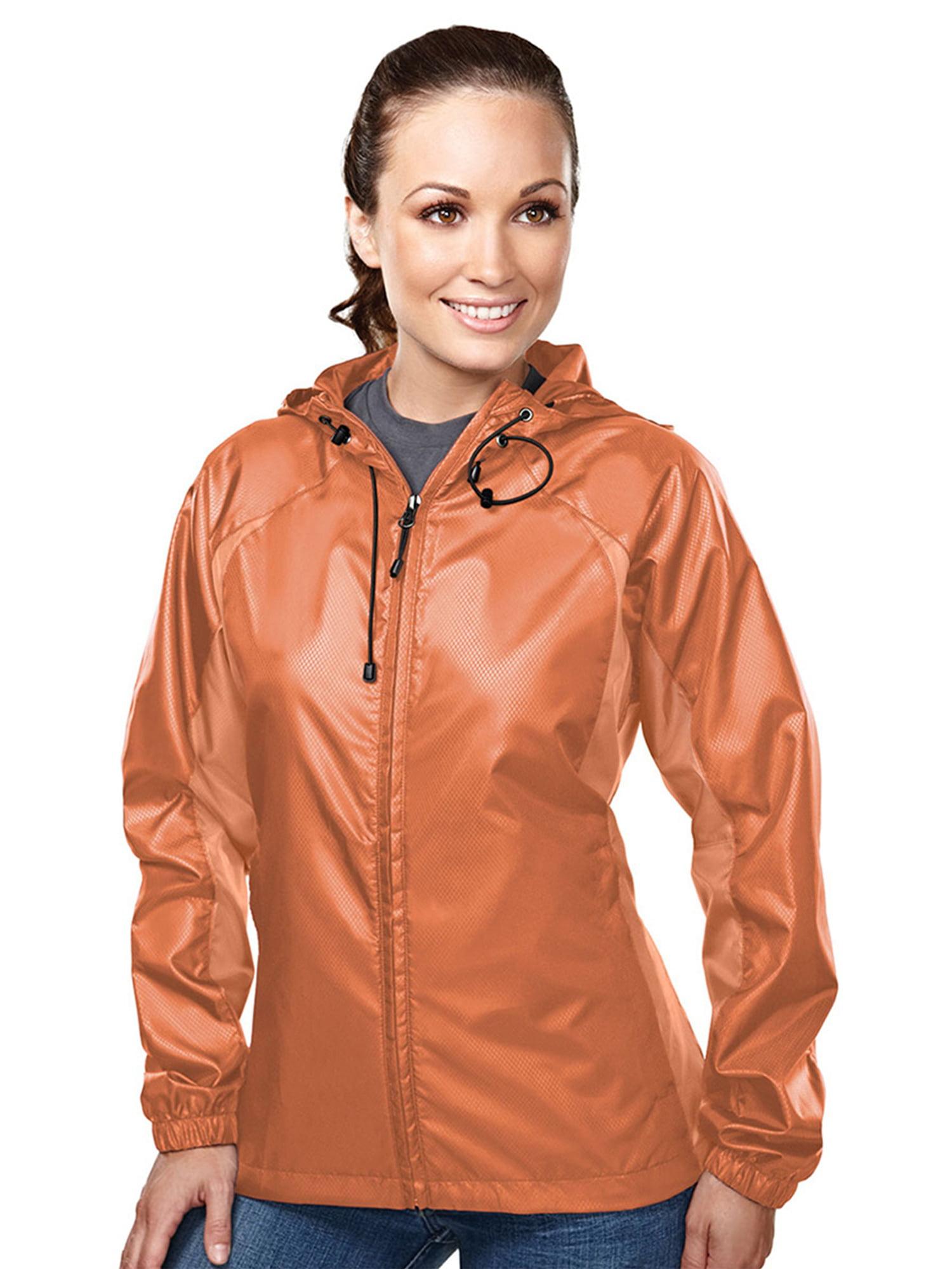 Tri-Mountain Women's Diamond Hooded Shell Jacket
