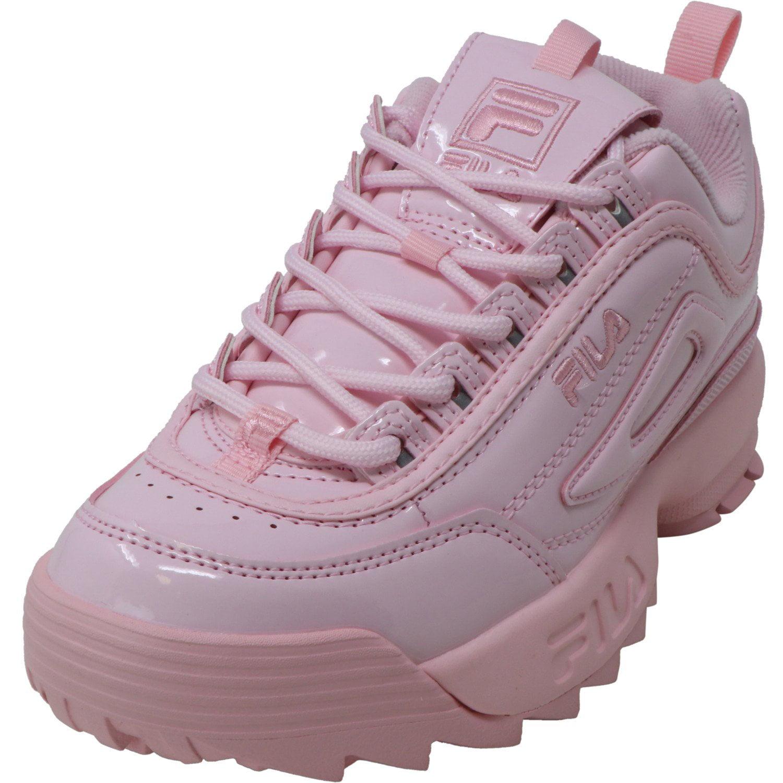 Premium Patent Chalk Pink / Ankle