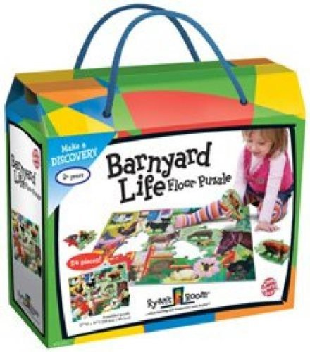 Barnyard Life Floor Puzzle..., By Small World Toys Ship from US by