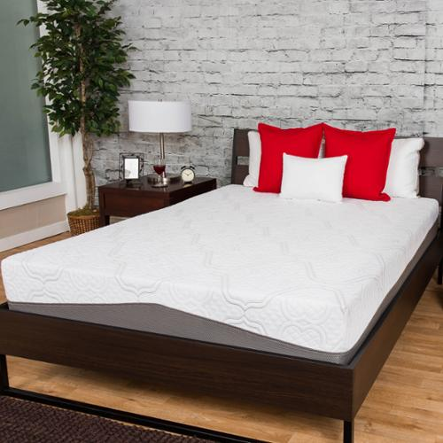 Somette Deluxe 12-inch Queen-size Gel Memory Foam Mattress