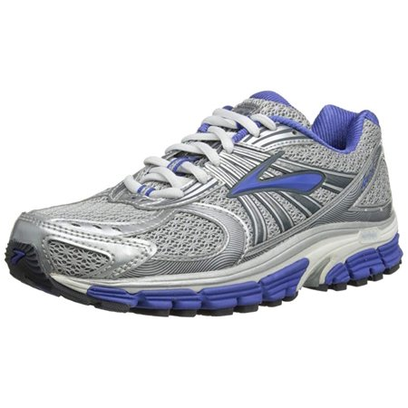 finest selection a3d5b 40fb6 Brooks Women's Ariel 12 Running Shoe, Silver/Blue/White/Lunar Rock, 6.5 B US