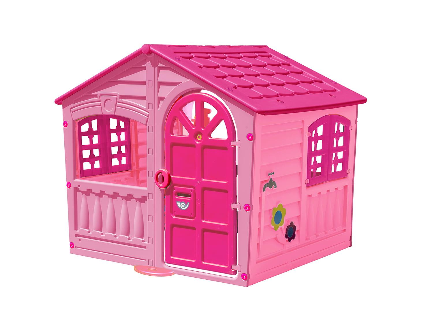 Pal Play Children\'s Fun House, Pink - Walmart.com