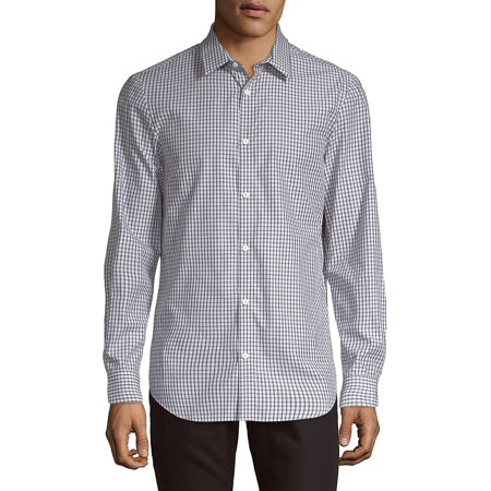 Checkered Classic-Fit Shirt Calvin Klein 2 Button Tuxedo