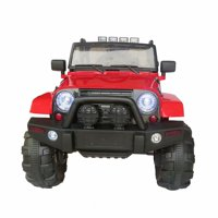 Akoyovwer Kids Ride On Car 12-volts with Remote Control for Childern Kids Christmas Birthday Gift Red