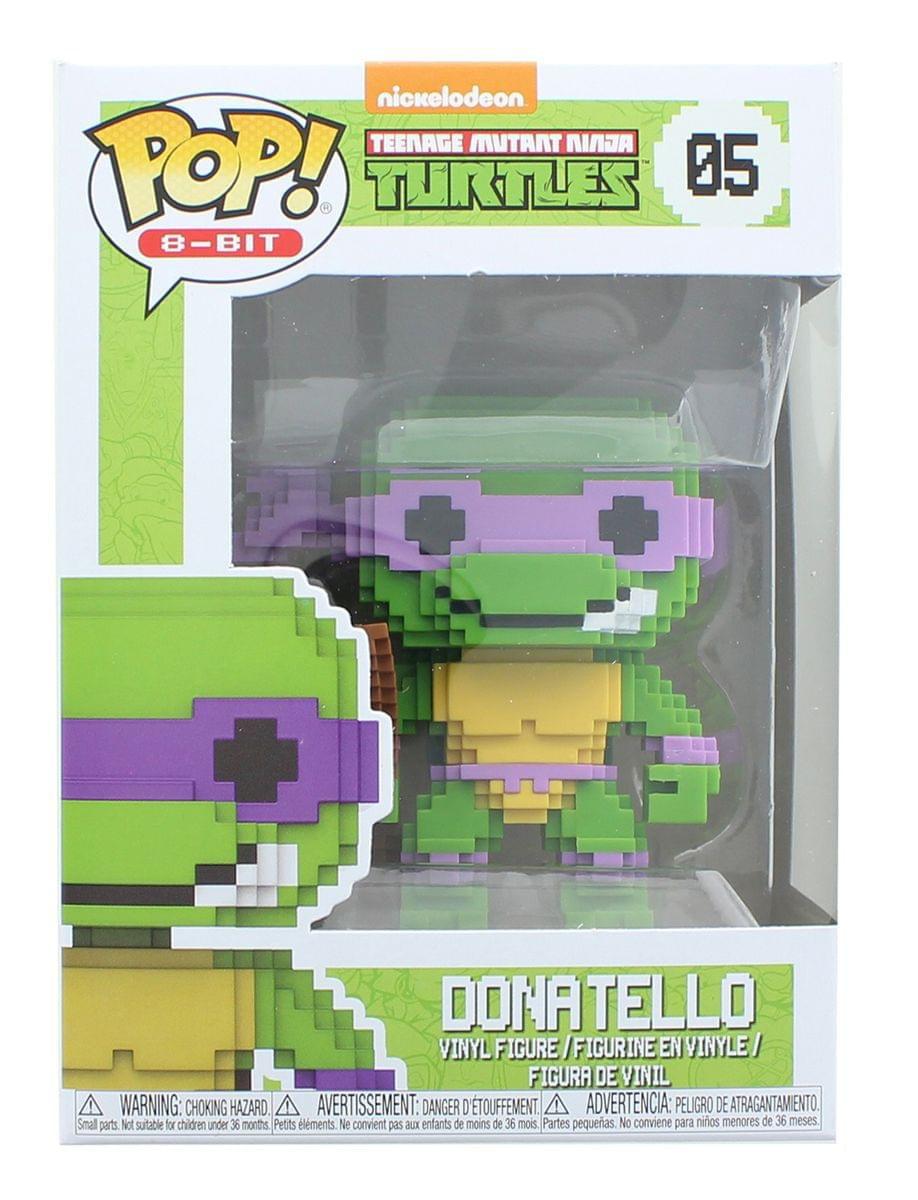 Teenage Mutant Ninja Turtles Funko 8-Bit Pop Vinyl Figure-Donatello