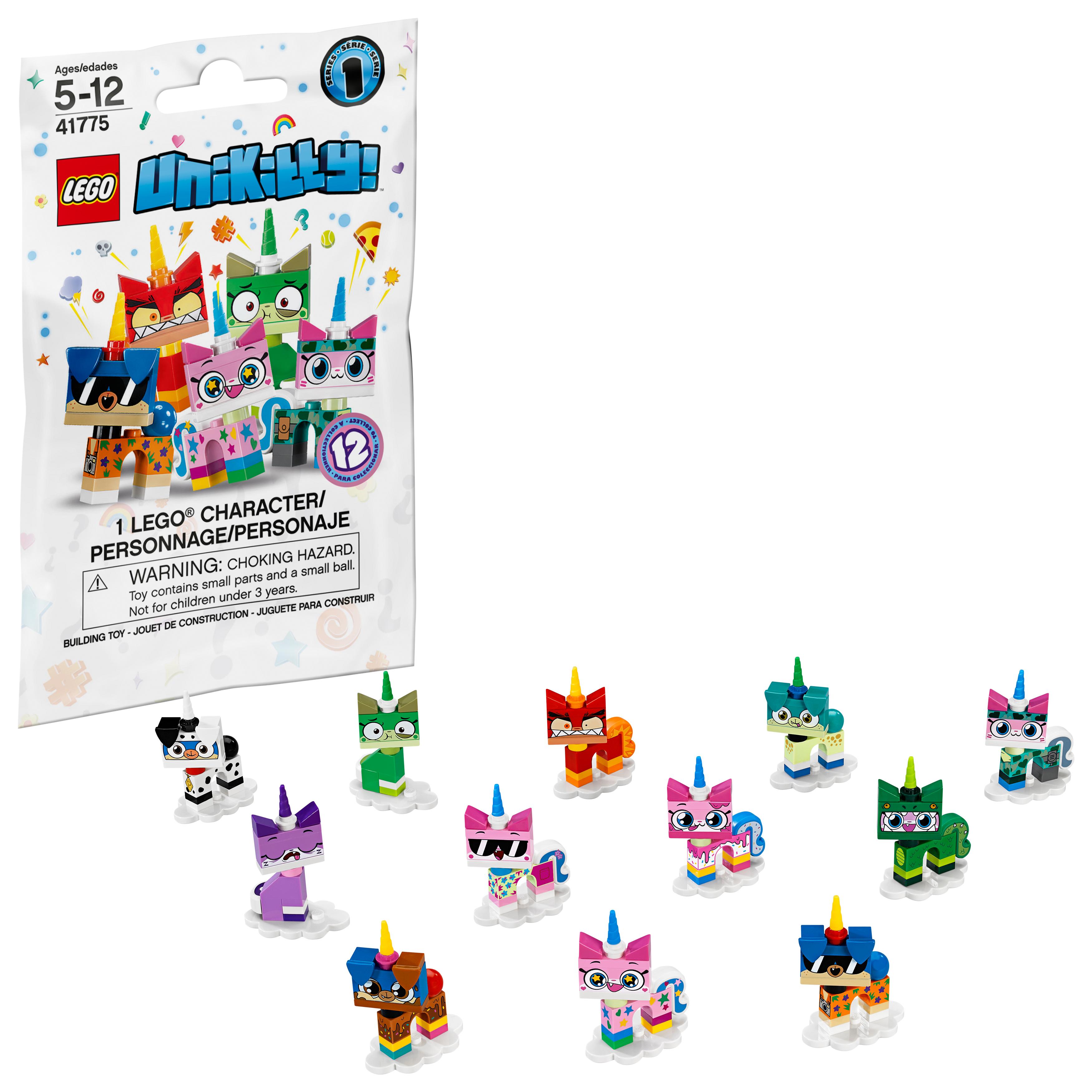 LEGO UNIKITTY 41775 SERIES 1 ALIEN PUPPYCORN  MINI FIGURE LOOSE  2018