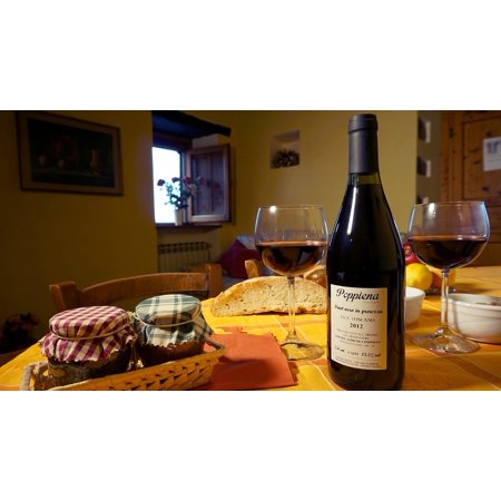 LAMINATED POSTER Tuscany Cottages-vacation Rentals Wine Poster Print 24 x (Cottage Vacation Rentals)