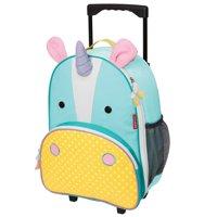 Skip Hop Zoo Kids Rolling Carry-on Luggage, Unicorn