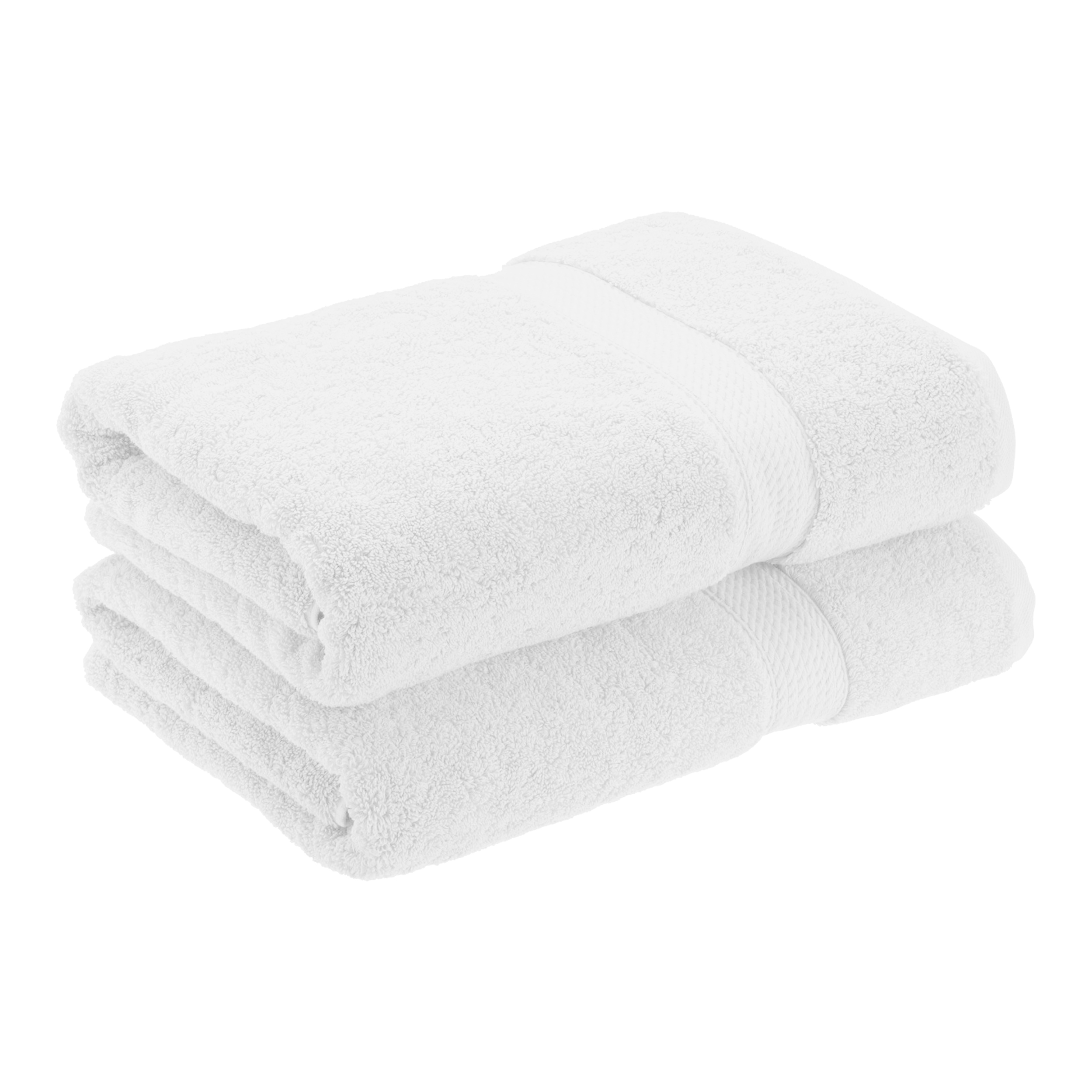 Superior 900GSM Egyptian Quality Cotton 2-Piece Bath Towel Set