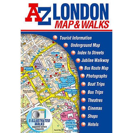London Map & Walks (Street Maps & Atlases) (Map) ()