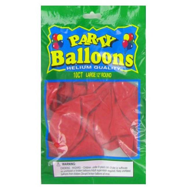 Deluxe Import Trading 4-NL5363 12 in.  Orange Balloons - 48 Packs
