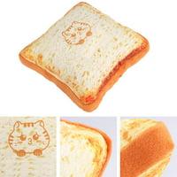 Greensen Cute Bread-shaped Cat Cushion Pillow Mat Pets Cats Dogs Toy