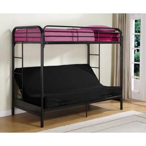 Twin-over-Futon Bunk Bed Mattress Set of 2