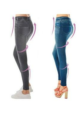 e7d5c867985 Product Image ZEDWELL 2016 Leggings Jeans for Woms en Denim Pants with Pocket  Slim Jeggings Fitness PluSize Leggings